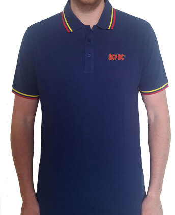 AC/DC Unisex Polo Shirt - Classic Logo