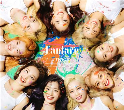 "Twice (K-Pop) - Fanfare (""A"" Version, Japan Edition, Limited Edition, CD + DVD)"