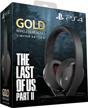 PS4 Gold Wireless Headset -The Last of Us Part 2