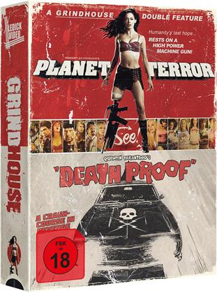 Grindhouse - Planet Terror / Death Proof (2007) (Limited Tape Edition, 2 Blu-rays)
