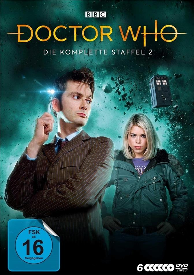 Doctor Who - Staffel 2 (BBC, 6 DVDs)