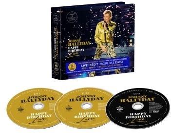 Johnny Hallyday - Happy Birthday Live - Parc De Sceaux (Deluxe Edition, 2 CDs + DVD)