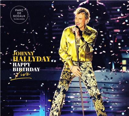 Johnny Hallyday - Happy Birthday Live - Parc de Sceaux (2 CDs + DVD)