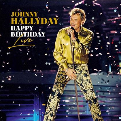 Johnny Hallyday - Happy Birthday Live - Parc De Sceaux (4 CDs)