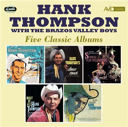 Hank Thompson - Five Classic Albums (2 CDs)