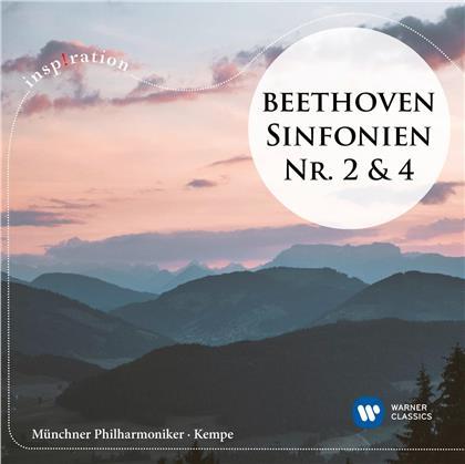 Ludwig van Beethoven (1770-1827), Rudolf Kempe & Münchner Philharmoniker - Sinfonien Nr. 2 & 4