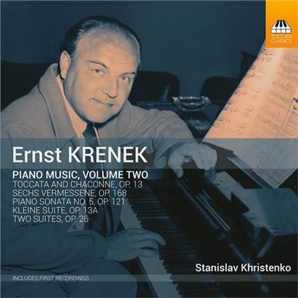 Ernst Krenek (1900-1991) & Stanislav Khristenko - Piano Music 2