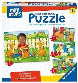 Mein allererstes Puzzle: Streichelzoo - 4 Puzzles (2/3/4/5 Teile)