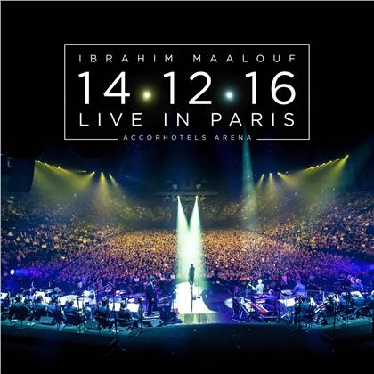 Maalouf Ibrahim - Live In Paris (2020 Reissue, 2 CD + DVD)