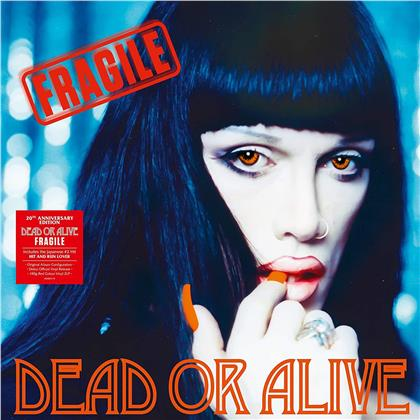 Dead Or Alive - Fragile (2020 Reissue, Demon Records, 20th Anniversary Edition, Red Vinyl, 2 LPs)