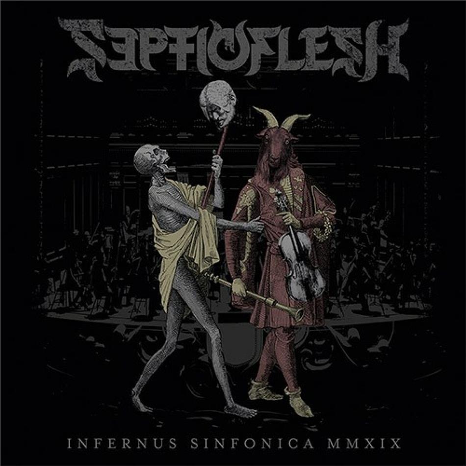 Septicflesh - Infernus Sinfonica MMXIX (Limited Edition, 2 CDs + Blu-ray)