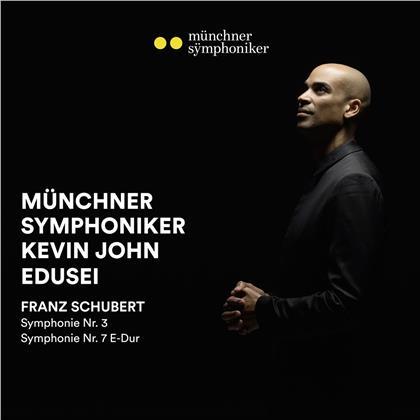 Franz Schubert (1797-1828), Kevin John Edusei & Münchner Symphoniker - Sinfonien 3 & 7