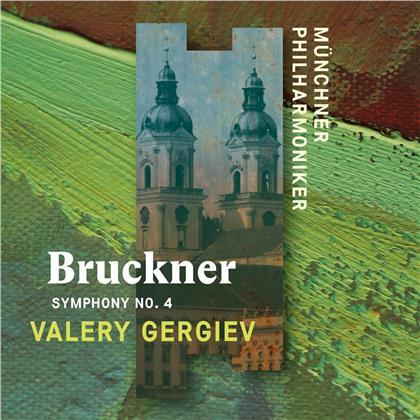 Anton Bruckner (1824-1896), Valery Gergiev & Münchner Philharmoniker - Sinfonie Nr. 4