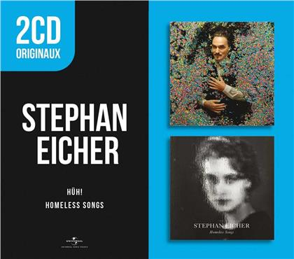 Stephan Eicher - Hüh! / Homeless Songs (6 références coffret 2 CD)