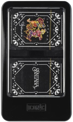 Santana - Double Deck Playing Card Set with Dice