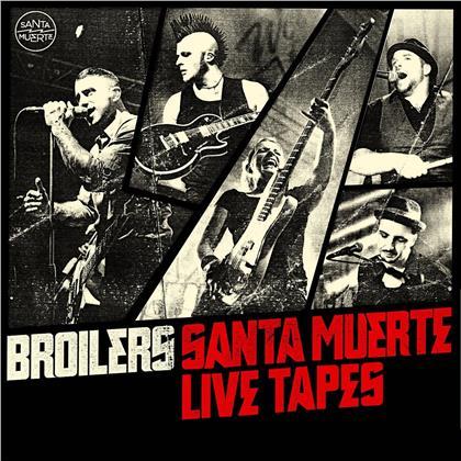 Broilers - Santa Muerte Live Tapes (2020 Reissue, 2 CDs)