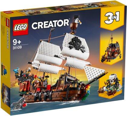 Piratenschiff - Lego Creator, 1260 Teile,