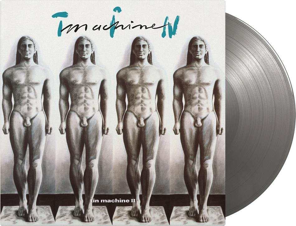 Tin Machine (Bowie David) - Tin Machine II (2020 Reissue, Limited to 5000 Copies, Music On Vinyl, Silver Colored Vinyl, LP)
