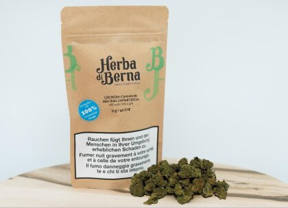 Herba di Berna Cannatonic (21g) - Mini Buds Limited Edition (CBD : 13.4% THC : 0.52%)