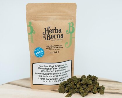 Herba di Berna Cannatonic (42g) - Mini Buds Limited Edition (CBD : 13.4% THC : 0.52%)