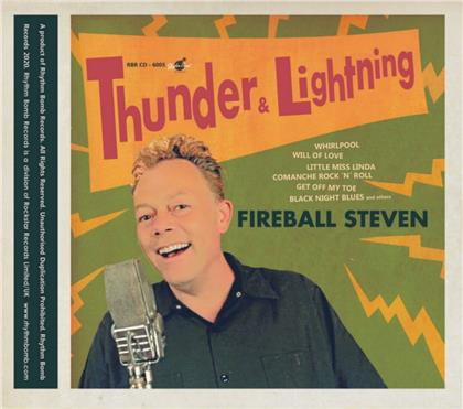 Fireball Steven - Thunder & Lightning (Papersleeve Limited Edition, Limited Edition, LP)