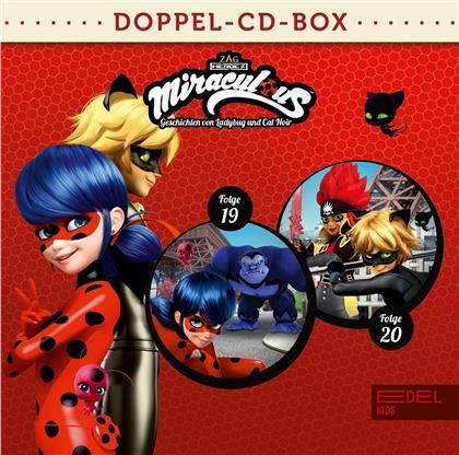 Hörspiel - Miraculous-Doppel-Box-Folgen 19+20 (2 CDs)