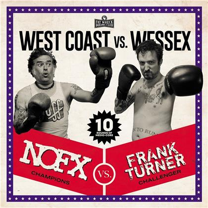 NOFX & Frank Turner - West Coast Vs. Wessex (LP)