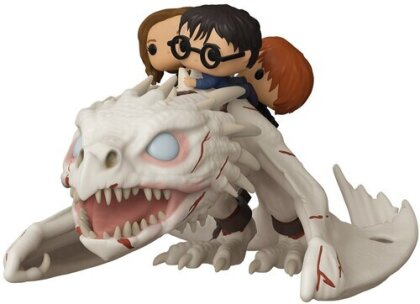 Funko Pop! Ride: - Dragon W/Harry, Ron, & Hermione