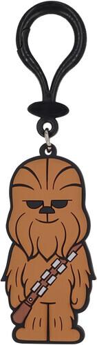 Star Wars Chewbacca Pvc Soft Touch Bag Clip