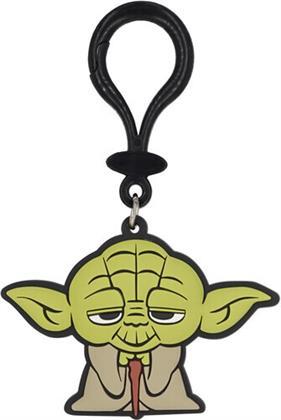 Star Wars Yoda Pvc Soft Touch Bag Clip