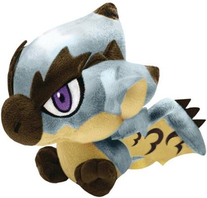 Good Smile Company - Monster Hunter Monster Chibi Plush Toy Silver Rathalos