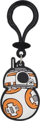 Star Wars Bb-8 Pvc Soft Touch Bag Clip
