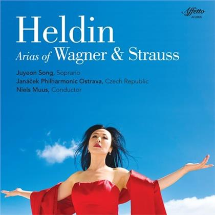 Richard Wagner (1813-1883), Richard Strauss (1864-1949), Niels Muus, Juyeon Song & Janacek Philharmonic Orchestra - Heldin - Arias of Wagner & Strauss