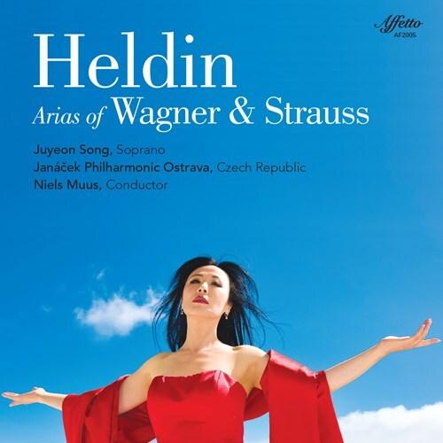 Richard Wagner (1813-1883), Richard Strauss (1864-1949), Niels Muus, Juyeon Song & Janacek Philharmonic Orchestra - Heldin - Arias of Wagner & Strauss