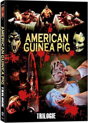 American Guinea Pig - Trilogie (Wattiert, Limited Edition, Mediabook, 5 DVDs)