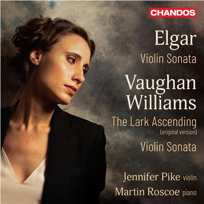 Sir Edward Elgar (1857-1934), Ralph Vaughan Williams (1872-1958), Jennifer Pike & Martin Roscoe - Violin Sonata, The Lark Ascending