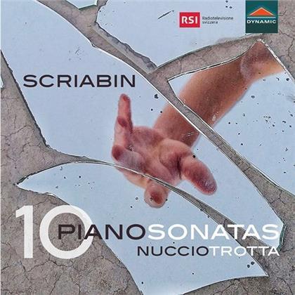 Alexander Scriabin (1872-1915) & Nuccio Trotta - 10 Piano Sonatas