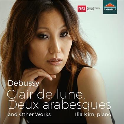 Claude Debussy (1862-1918) & Ilia Kim - Clair De Lune, Deux Arabesques And Other Works