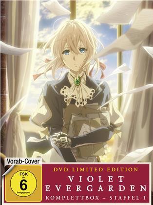 Violet Evergarden - Staffel 1 (Komplettbox, Limited Edition, 4 DVDs)