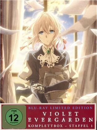 Violet Evergarden - Staffel 1 (Komplettbox, Limited Edition, 4 Blu-rays)