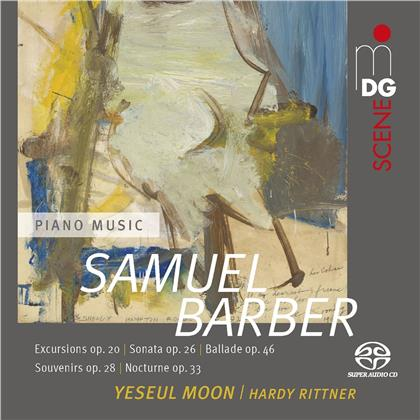 Samuel Barber (1910-1981), Yeseul Moon & Hardy Rittner - Piano Works For Four Hands (Hybrid SACD)