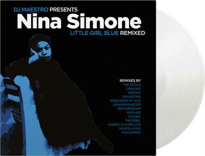 DJ Maestro & Nina Simone - Little Girl Blue Remixed (Music On Vinyl, 2020 Reissue, Limited, Clear Vinyl, LP)