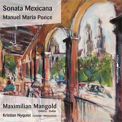 Manuel Maria Ponce, Maximilian Mangold & Kristian Nyquist - Sonata Mexicana