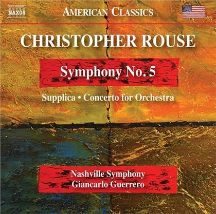 Nashville Symphony, Christopher Rouse & Giancarlo Guerrero - Symphony 5