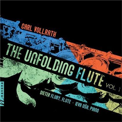 Carl Vollrath, Dieter Flury & Ieva Osa - Unfolding Flute 1