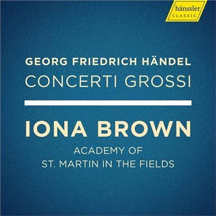 Georg Friedrich Händel (1685-1759), Iona Brown & Academy Of St Martin In The Fields - Concerti Grossi