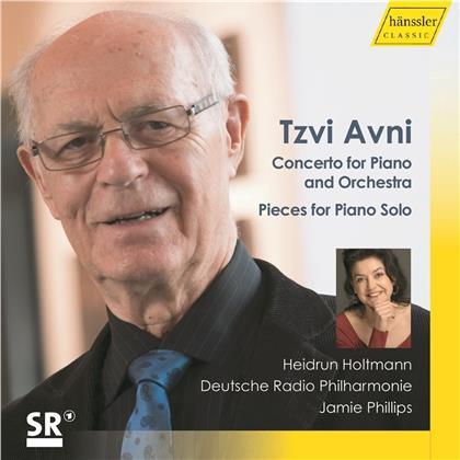 Tzvi Avni (*1927), Jamie Philips, Heidrun Holtmann & Deutsche Radio Philharmonie - Concerto For Piano & Orchestra