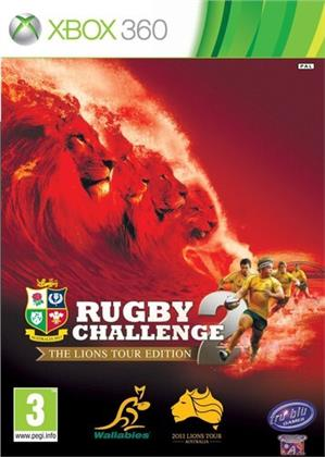 Xbox 360 - Rugby Challenge 2-The Lions Tour Edition