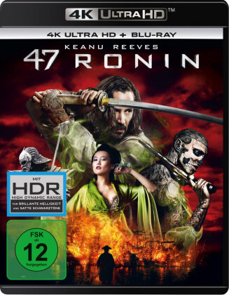 47 Ronin (2013) (4K Ultra HD + Blu-ray)