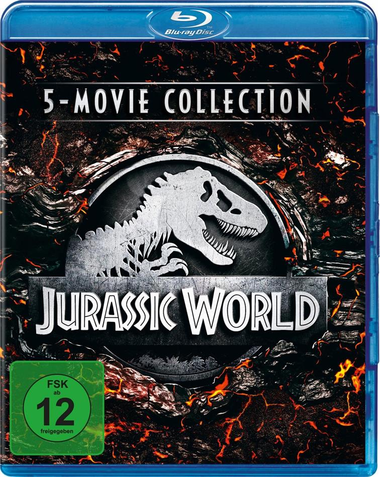 Jurassic World - 5-Movie Collection (5 Blu-rays)